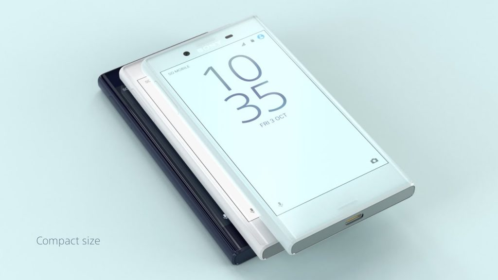 Fitur Sony Xperia X Compact