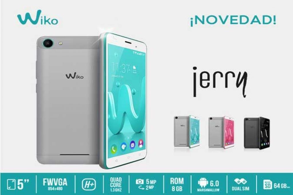 Fitur Wiko Jerry