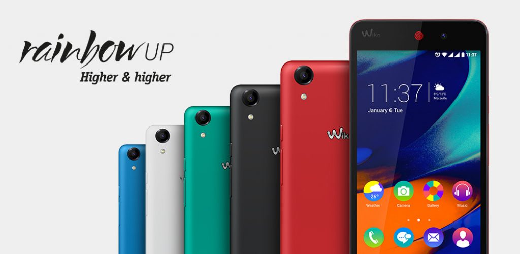 Kamera Wiko Rainbow Up