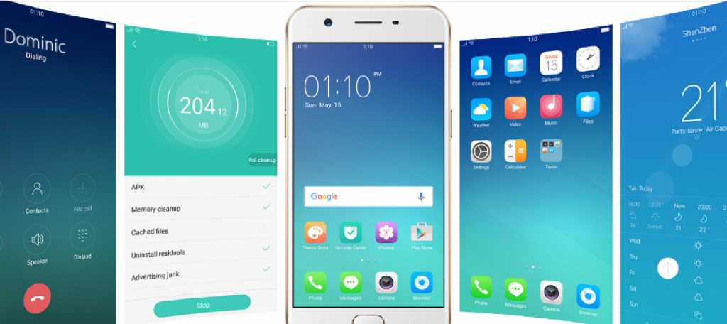Fitur Oppo A57