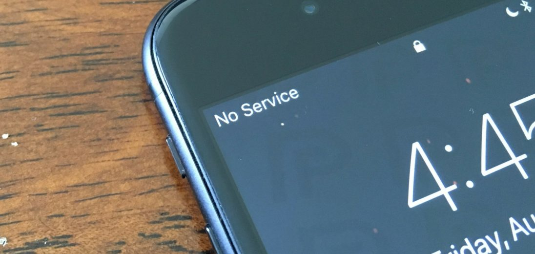 no service iphone